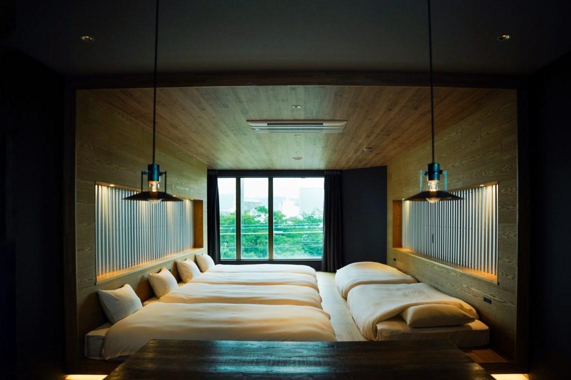 リノベーションホテルの客室