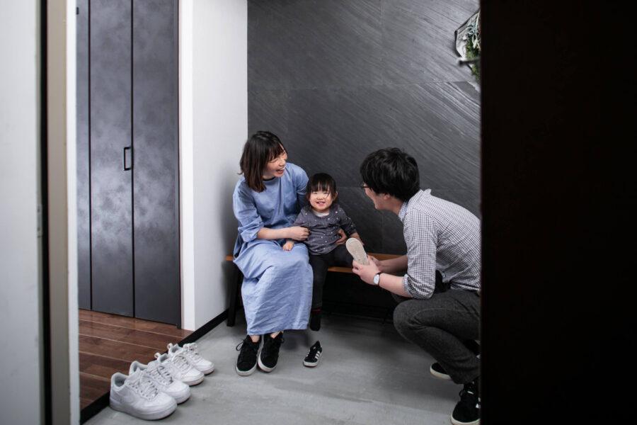 住宅リノベーションの内装